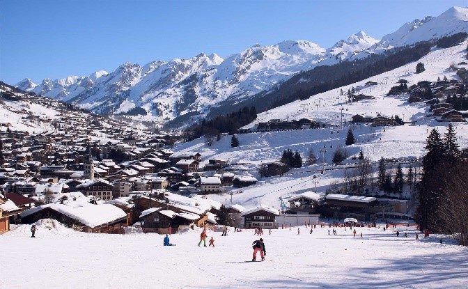 Station de ski Alpes