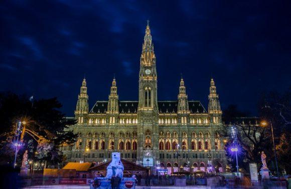 Un hiver féerique à Vienne