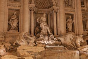 rome fontaine trevi