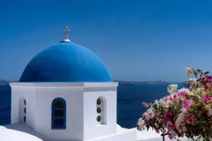 Santorin grèce romantique