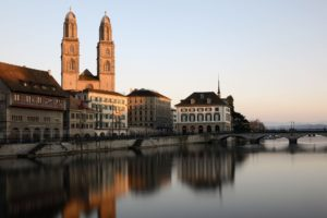 Zurich suisse romantique